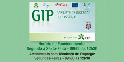 Horário – Gabinete de Inserção Profissional (GIP)