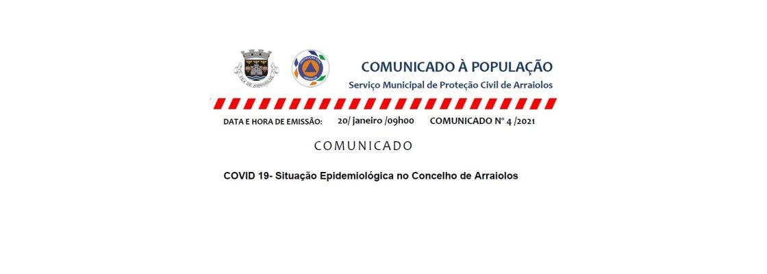 Comunicado Nº 4 do SMPC  – 20/01/2021