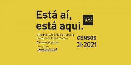 CENSOS 2021 - Recenseadores