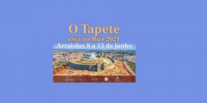 8 a 13 de junho – o Tapete está na Rua'2021