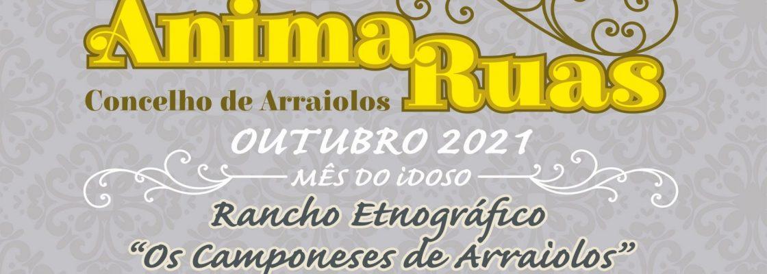 """Mês do Idoso – Anima Ruas – Rancho Etnográfico """"Os Camponeses"""" de Arrai..."""